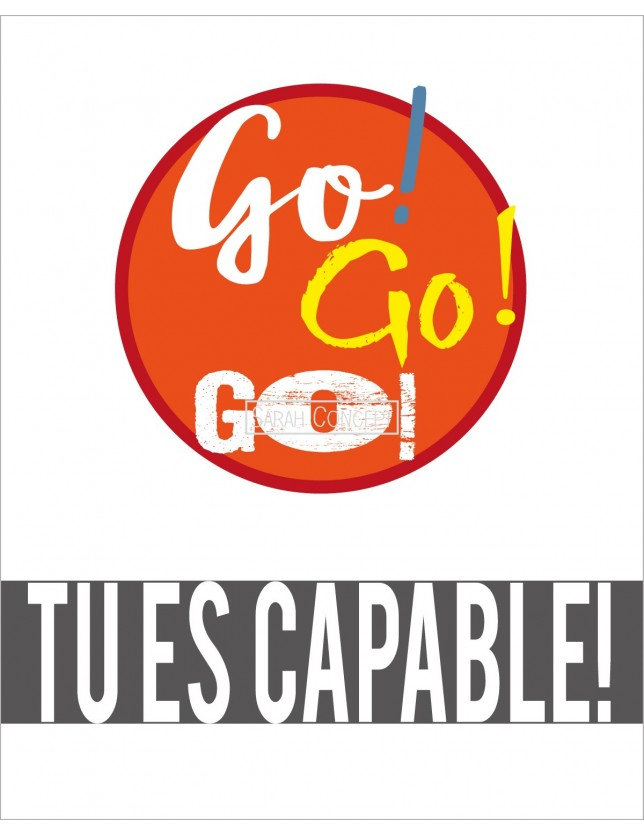 Affiche Go! Go! Go! Tu es capable