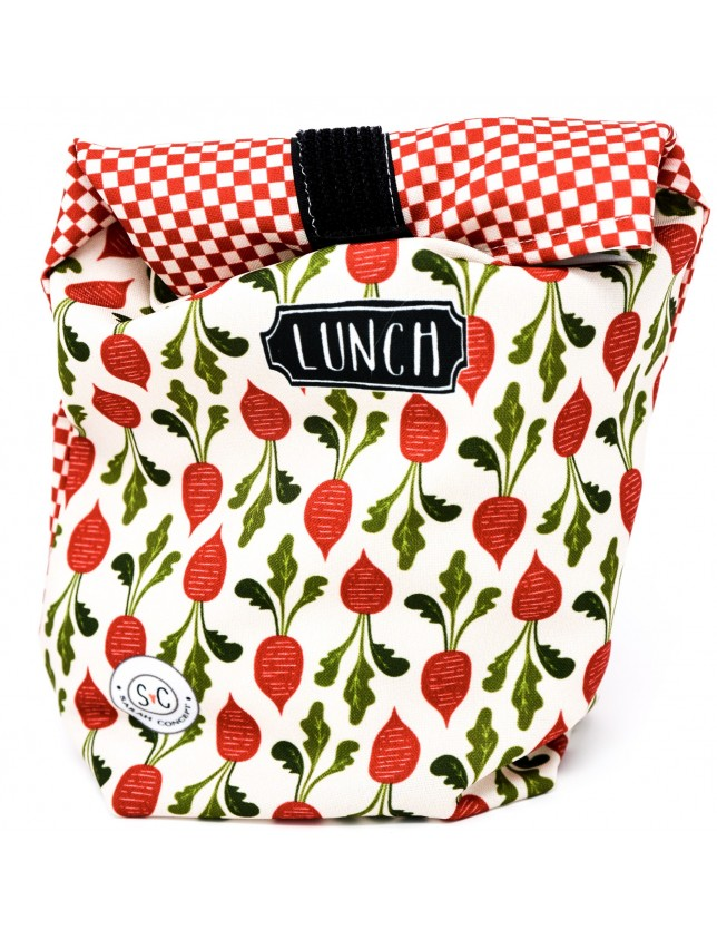 Petit sac à lunch - Radis